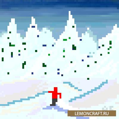 Мод на занятие лыжным спортом Skiing [1.16.4]